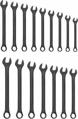 Neiko 03575A Raised Panel Combination Wrench Set with Storag