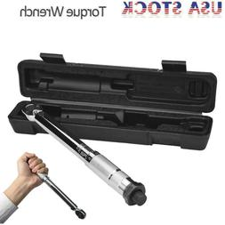 1/2 in. Drive Click Type Torque Wrench Ratchet 20-150 ft. lb