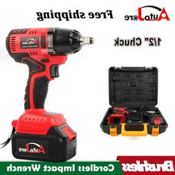 1/2 in Impact Wrench Cordless Battery 18V 20V Craftsman High