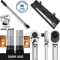 EPAuto 1/2-Inch Drive Click Torque Wrench  .5 in