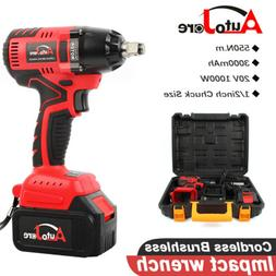 1/2in Impact Wrench Cordless Battery Craftsman High Torque p