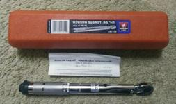 1 4 drive automatic click torque wrench