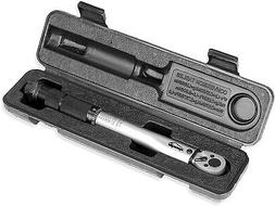 EPAuto 1/4-Inch Drive Click Torque Wrench Tool