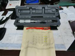 """PROTO 1/4"""" TORQUE WRENCH 40-200 IN LBS J6062C W/CALIBRATION"""
