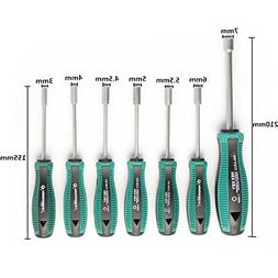 7 In 1 Socket Screwdriver 3/4/4.5/5/5.5/6/7mm Inner Hexagon