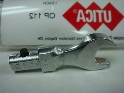 "11/32"" UTICA OP 112 ""A"" Sz Open End Wrench Head Attachment """