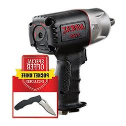 """AIRCAT 1150-KP 1/2"""" Drive Impact Wrench with FREE Stainless"""