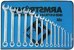 Armstrong 52-632 15 Piece 12 Point Metric Full Polish Long C