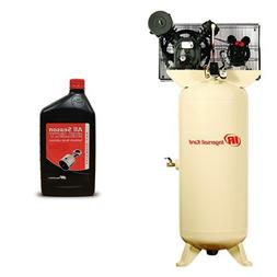 2340L5 5 HP 60 Gallon Two-Stage Air Compressor  with 1L Bott