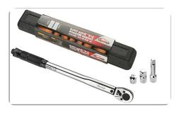 3/8-Inch Drive Click Torque Wrench, 10-80 ft.-lb. / 13.6-108