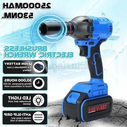 530N.M Electric Cordless Impact Wrench 1/2'' Socket Brushles