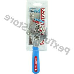 "6WCB Channellock 6"" WideAzz Adjustable Wrench, Code Blue Gri"