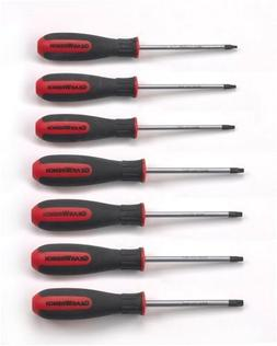 GearWrench 80054 7 Piece Torx Dual Material Screwdriver Set