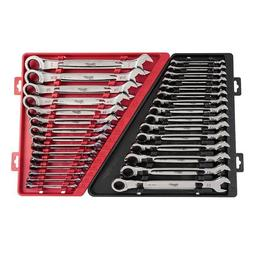 Milwaukee 48-22-9516 15pc Ratcheting Combination Wrench Set