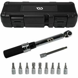 Bicycle Bike 1/4 Inch Driver Torque Wrench Allen Key Tools S