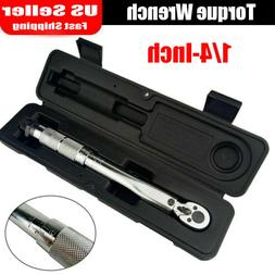 "High-quality 1/4"" Professional Drive Click Torque Wrench 10-"