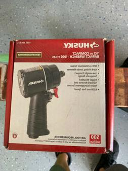"Husky 1/2"" Compact Impact Wrench 500 Ft-lbs 1001 659 931"