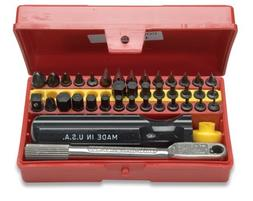 Wadsworth Deluxe Mini Ratchet & Screwdriver Set 3 44-Piece