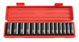 TEKTON 1/2-Inch Drive Deep Impact Socket Set, Metric, Cr-V,