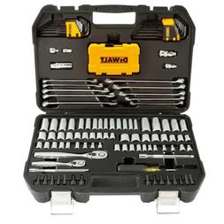 DEWALT 142 PC. 1/4 IN & 3/8 IN DRIVE MECHANICS TOOL SET
