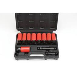 1/2 in. Drive Super High Torque Lug Nut Impact Socket Set 11