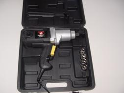 New Electric 1/2 Impact Wrench with 4 Metric Sockets