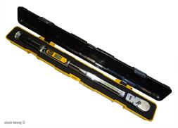 """GEARWRENCH ELECTRONIC TORQUE WRENCH, 1/2"""", flex-head, 120X"""