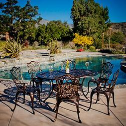 Gardena Outdoor Furniture Dining Set, Table and Chairs for P