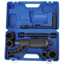 GHP Heavy Duty Aloy Steel Torque Multiplier Wrench Set w Blu