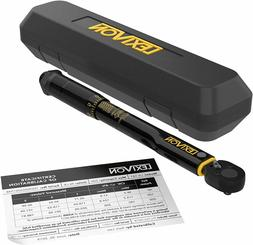 nch Pound Torque Wrench 1/4-Inch Drive | 20~200 in-lb/2.26~2