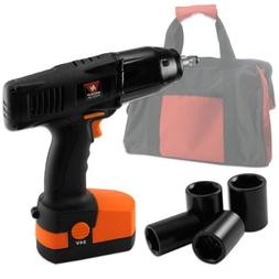 Neiko Industrial-Duty 24-Volt 1/2-Inch Drive Cordless Impact