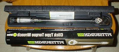 1 2 clicker type torque wrench 20