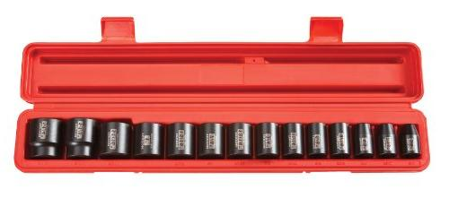 TEKTON 60PC 1/2'' DR. DEEP IMPACT and SHALLOW SOCKET SETS SA