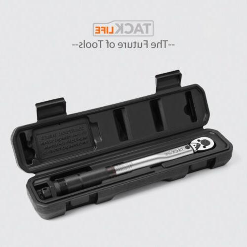 Tacklife 1/4-inch Drive Torque Wrench Self