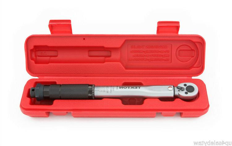 1/4-Inch Drive Click Torque Wrench with storage case include