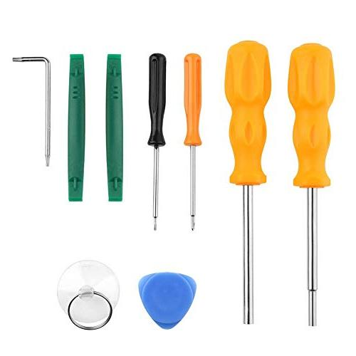1 game console screwdrivers pry