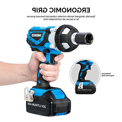 Lithium-Ion Cordless with Charger and Socket Set | Drive