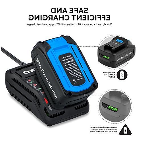 Neiko Lithium-Ion with Battery, Charger and Set Drive