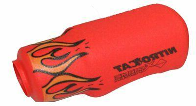 NITROCAT 1355-XLBR Red Flame Nose Boot For 1355-XL 3/8-Inch