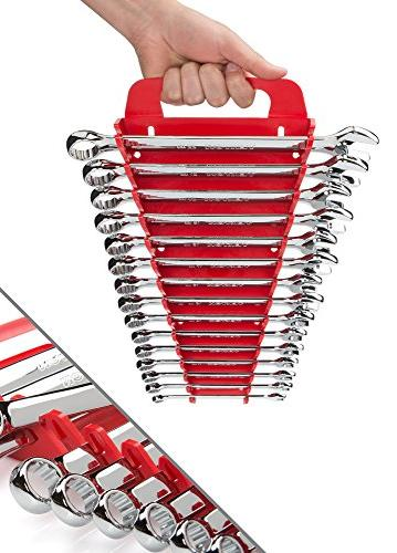 TEKTON Wrench with Store and Go Keeper, - 22 15-Piece   18792