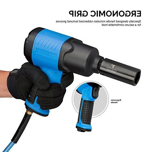 Neiko 30128A Impact Wrench, 1/2-Inch Drive | Powered |