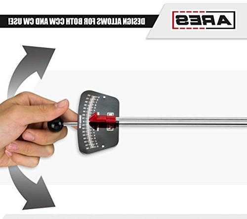 ARES 70213 | 1/4-inch | 0-80 0-9 Newton Wrench Markings Easy Readings