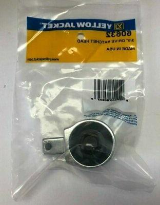 Yellow Jacket 60632 3/8 Drive Ratchet Head for Torque Wrench