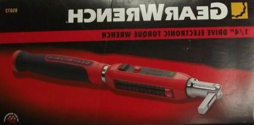 gearwrench drive electronic torque wrench