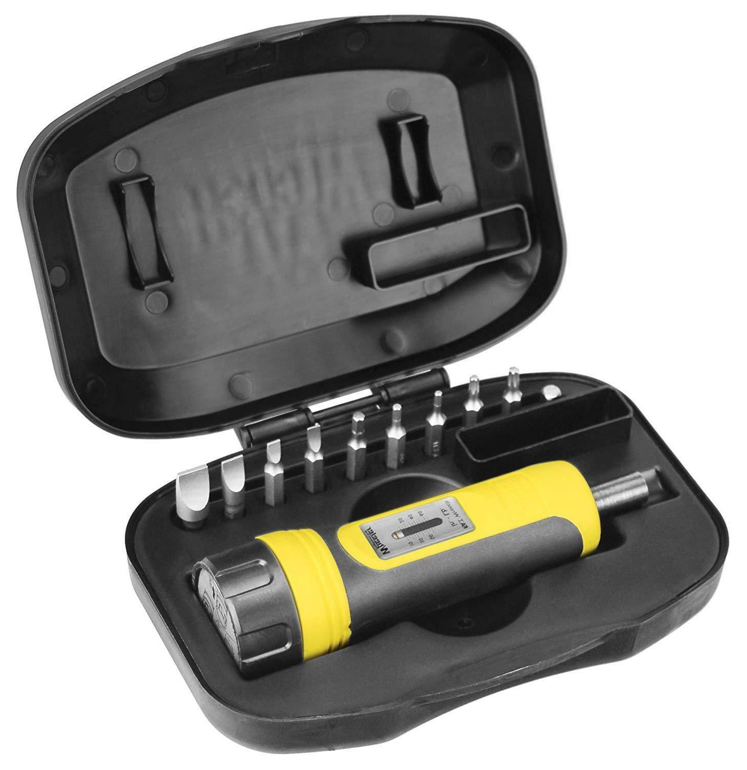 Rifle Torque Wrench Set w/ Case FAT Firearms Accurizing Tool