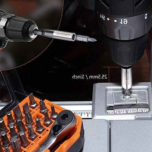 "HBWS1A Screwdriver 1/4"" Mini Holder and Included, Gearhead, for Wrench, or Drill"