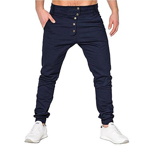 mens pants clearance casual loose