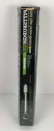 "**NEW** PITTSBURGH PRO 3/8"" DRIVE CLICK TYPE TORQUE WRENCH W"