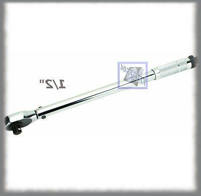 reversible click type torque wrench 1 2