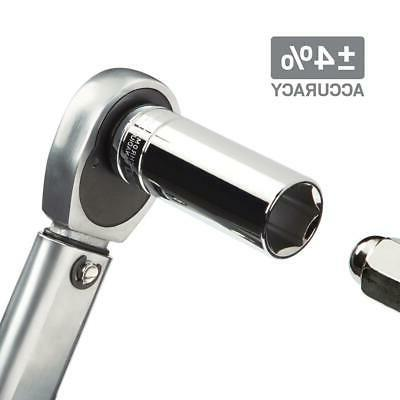 TEKTON Torque Wrench 1/2 in. Chrome-Plated